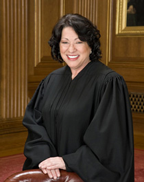The Honorable Sonia Sotomayor